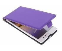 Mobiparts Premium flipcase Huawei Ascend P7 - Purple