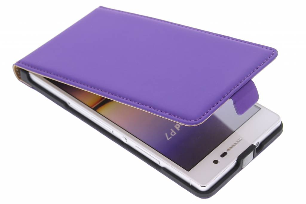 Mobiparts Premium flipcase voor de Huawei Ascend P7 - Purple