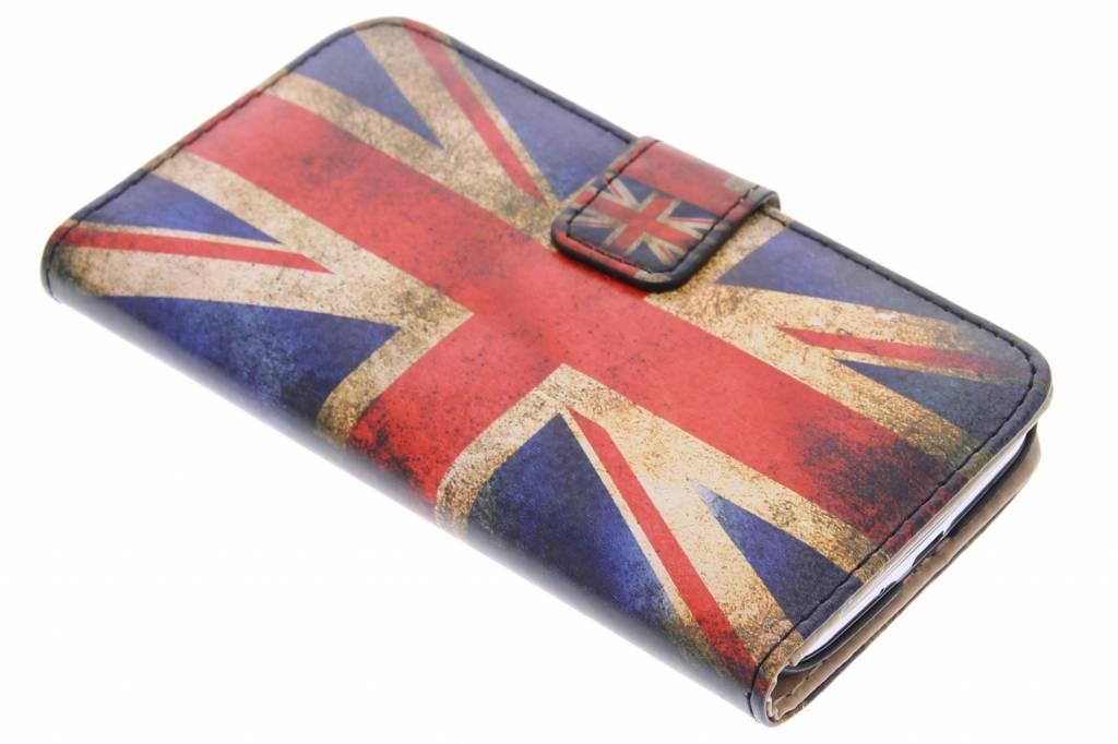 Britse vlag design booktype hoes voor de Samsung Galaxy S4