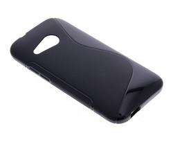 Zwart S-line TPU hoesje HTC One Mini 2