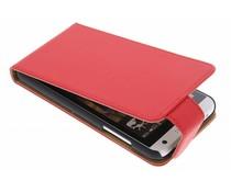 Rood classic flipcase HTC Desire 610