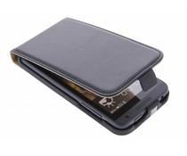 Zwart luxe flipcase HTC Desire 610