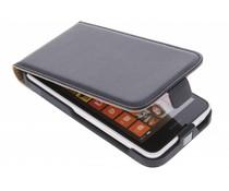 Zwart luxe flipcase Nokia Lumia 630 / 635