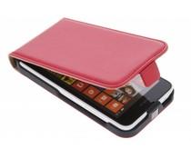 Rood luxe flipcase Nokia Lumia 630 / 635