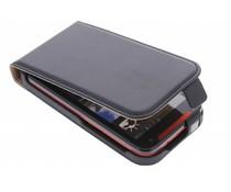 Zwart luxe flipcase HTC Desire 310