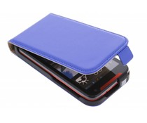 Blauw luxe flipcase HTC Desire 310
