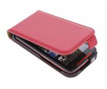 Rood luxe flipcase HTC Desire 310