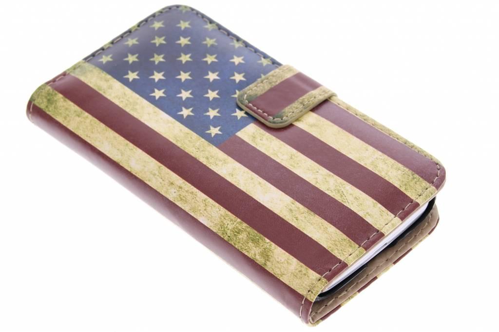 Amerikaanse vlag design booktype hoes voor de LG L90