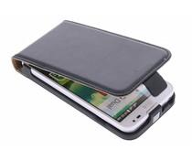 Zwart luxe flipcase LG L90