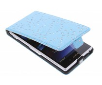 Bloemblad design flipcase Sony Xperia Z1