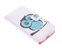 Design TPU booktype hoes Samsung Galaxy S4 Mini
