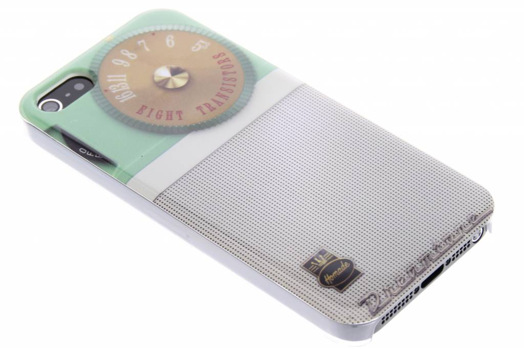 Radio design glad hardcase hoesje voor de iPhone 5 / 5s / SE
