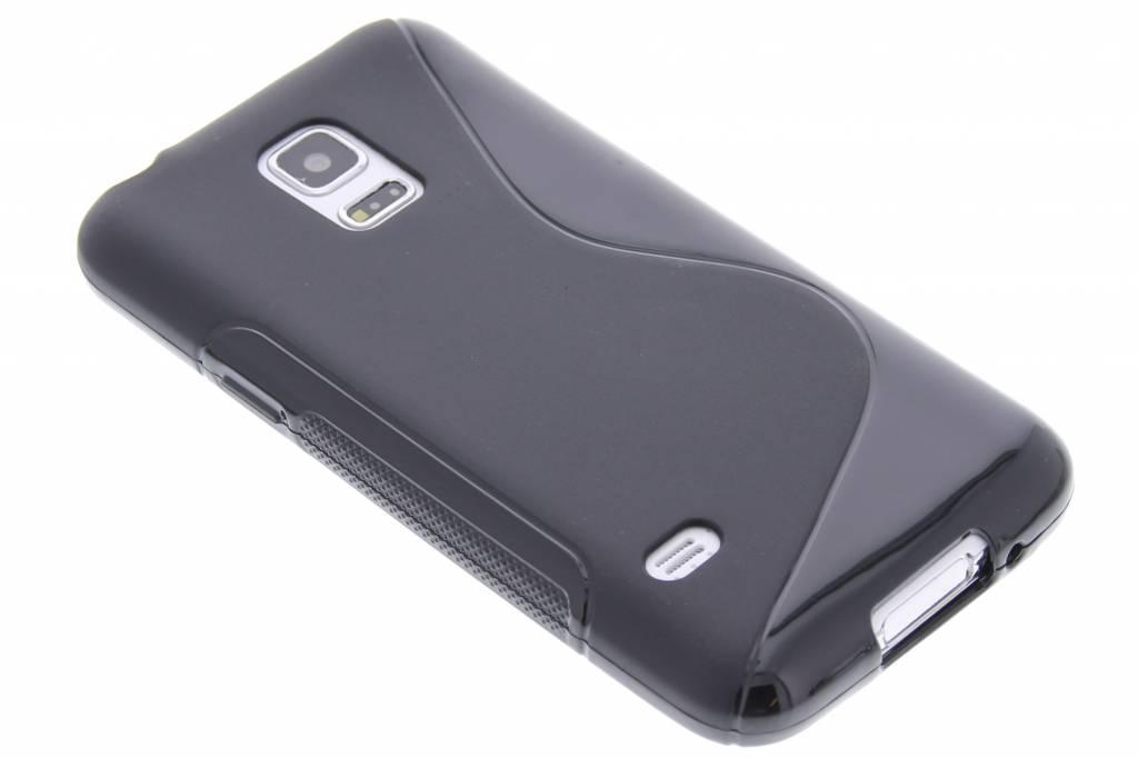 Zwart S-line TPU hoesje voor de Samsung Galaxy S5 Mini