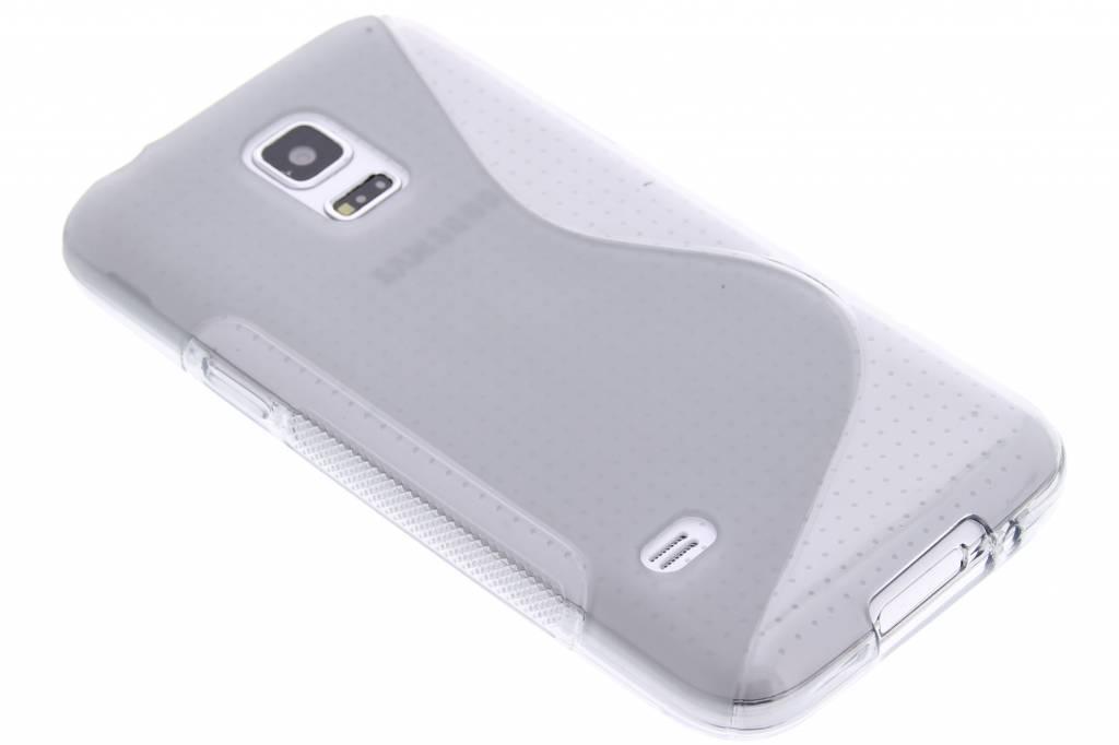 Grijs S-line TPU hoesje voor de Samsung Galaxy S5 Mini