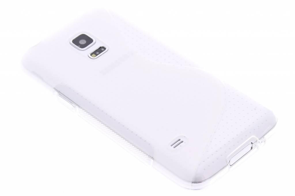 Transparant S-line TPU hoesje voor de Samsung Galaxy S5 Mini