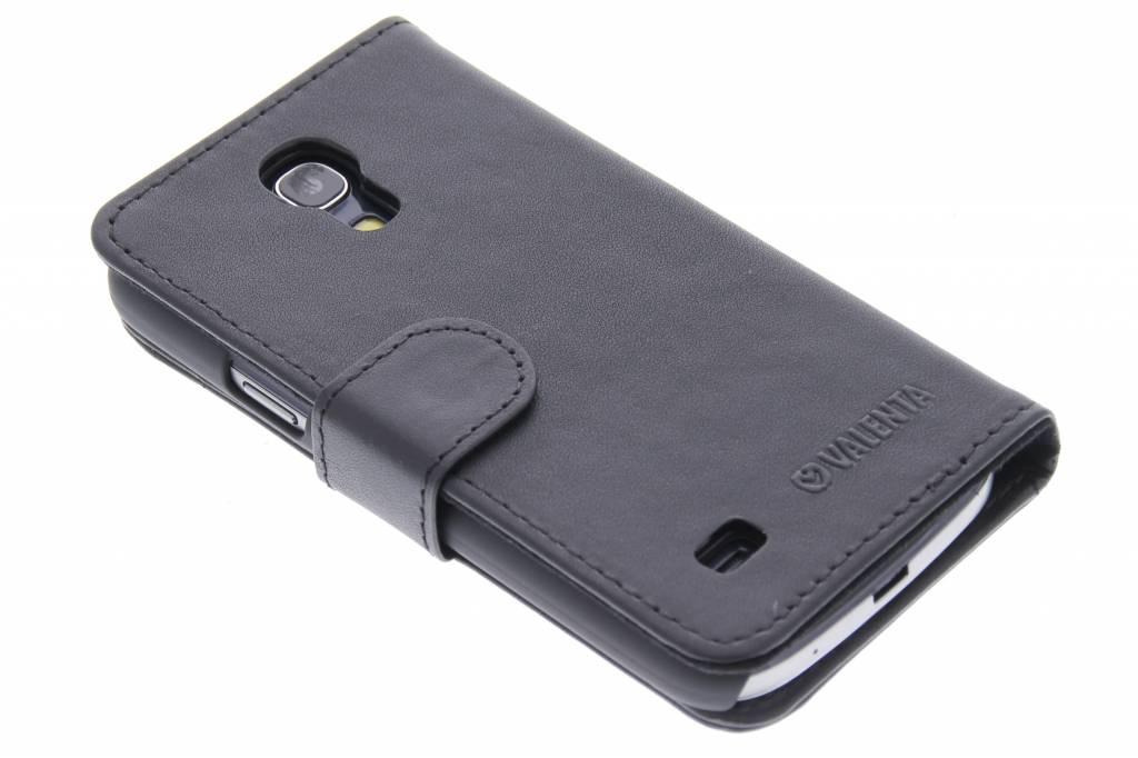 Valenta Booklet Classic Luxe voor de Samsung Galaxy S4 Mini - Black