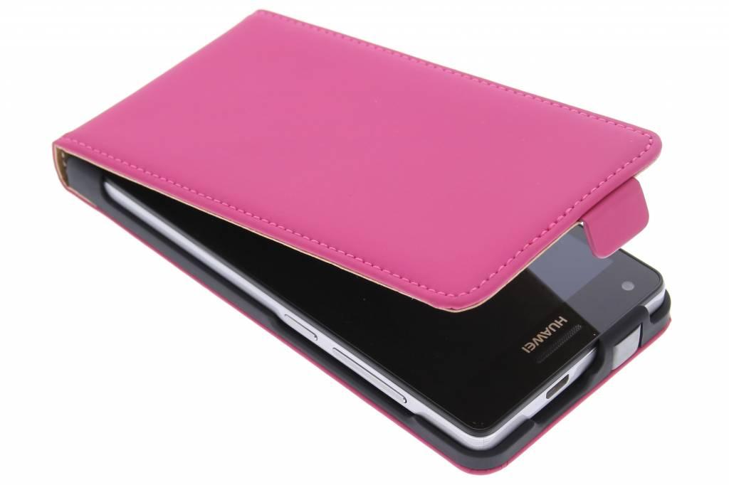 Mobiparts Premium Flip Case Huawei Ascend G6 4G Pink