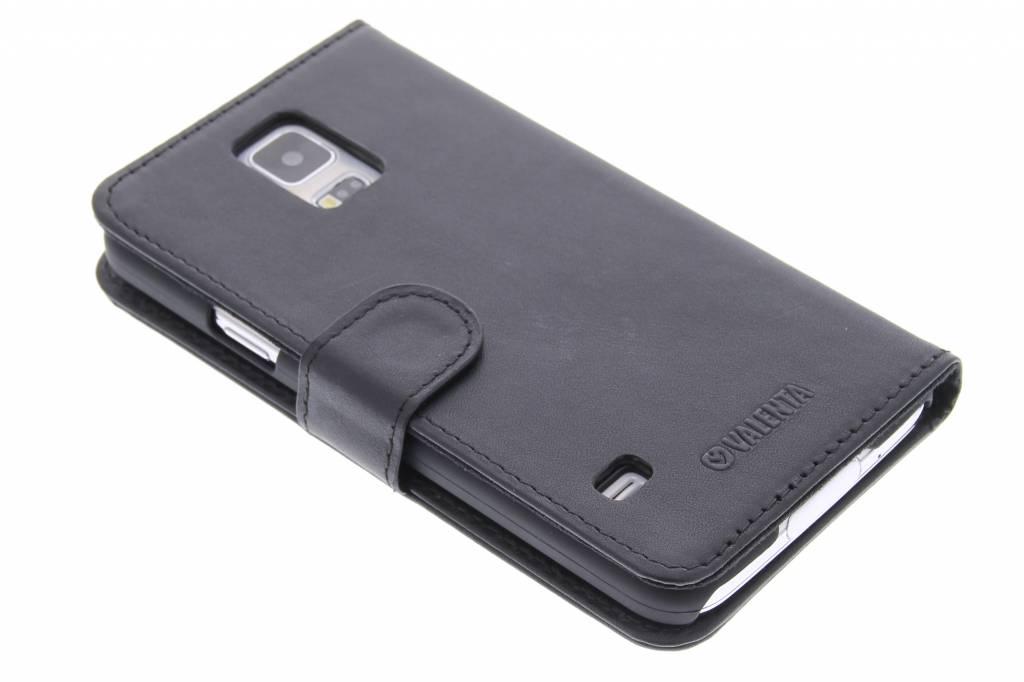 Valenta Booklet Classic Luxe voor de Samsung Galaxy S5 (Plus) / Neo - zwart