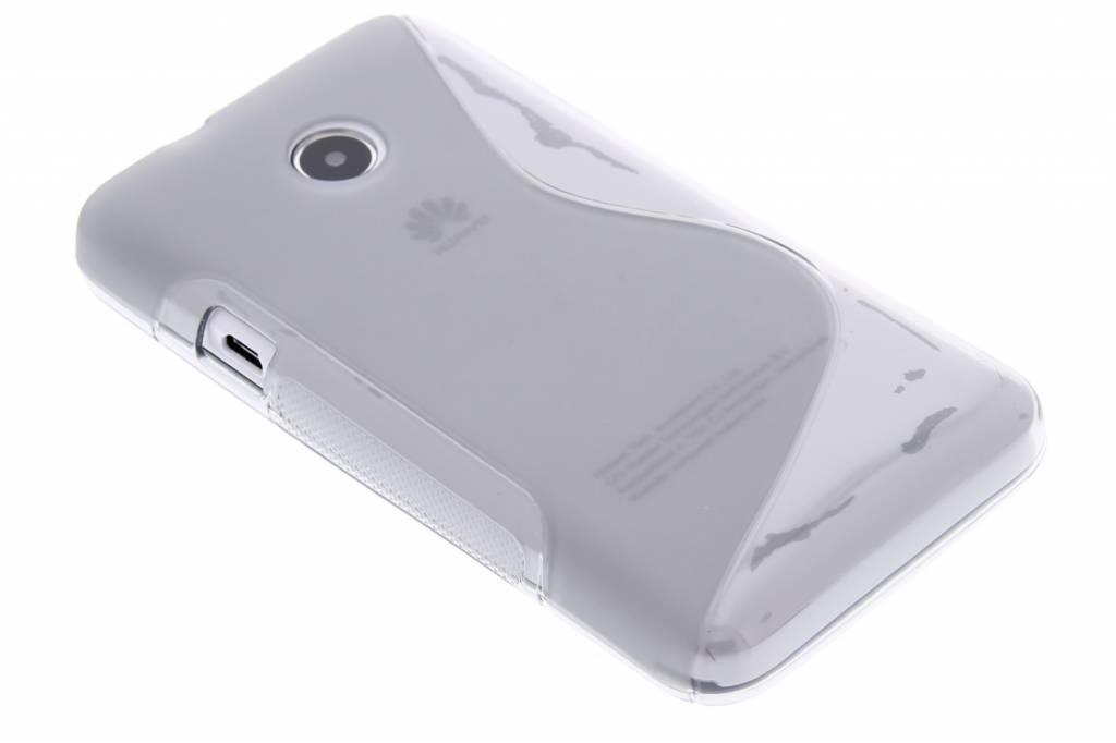 Grijze S-line TPU hoesje voor de Huawei Ascend Y330