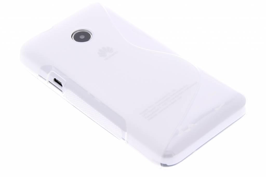 Transparant S-line TPU hoesje voor de Huawei Ascend Y330