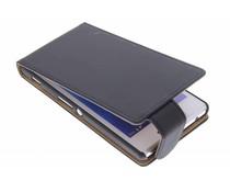 Zwart classic flipcase Sony Xperia M2 (Aqua)