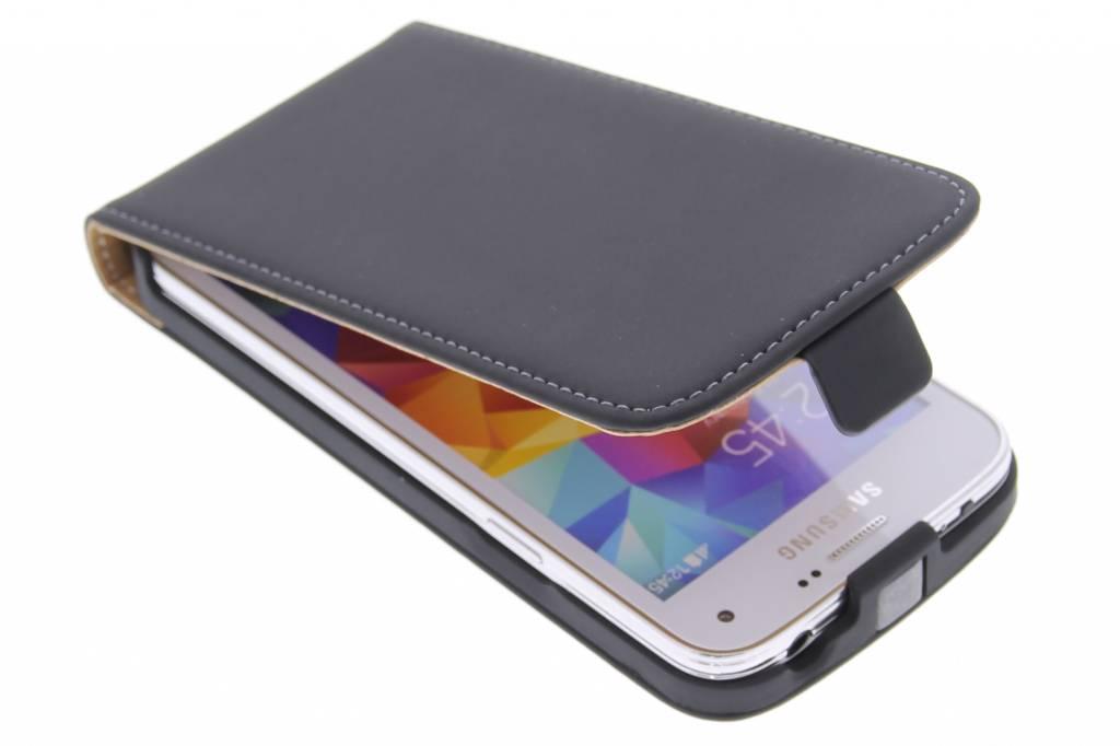 Mobiparts Premium flipcase voor de Samsung Galaxy S5 Mini - Black