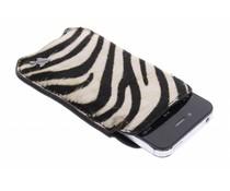 itZbcause Zebra Braided insteekhoesje iPhone 4 / 4s
