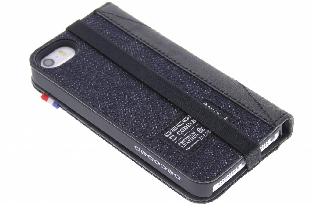 Image of Case Wallet voor de iPhone 5 / 5s / SE - Denim Black
