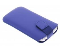 Mobiparts Premium Pouch maat L - blauw