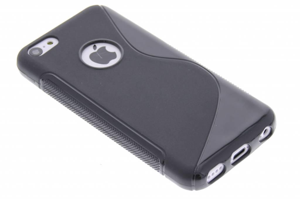 Zwart S-line TPU hoesje voor de iPhone 5c
