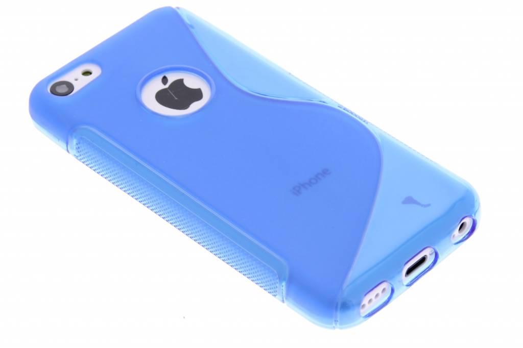Blauw S-line TPU hoesje voor de iPhone 5c
