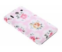 Bloemen design hardcase hoesje Huawei Ascend G510