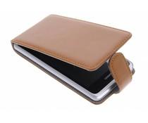 Bruin stijlvolle flipcase Huawei Ascend Y530