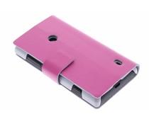 Stijlvolle booktype hoes Nokia Lumia 520