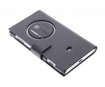 Zwart stijlvolle booktype hoes Nokia Lumia 1020