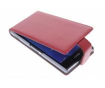 Rood stijlvolle flipcase Sony Xperia Z2