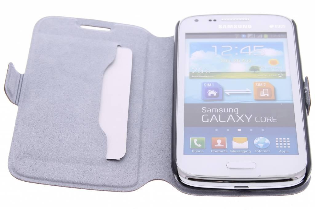 Fuchsia Boîtier De Type Livre De Luxe Pour Le Noyau De La Galaxie Samsung i2pXBzHW