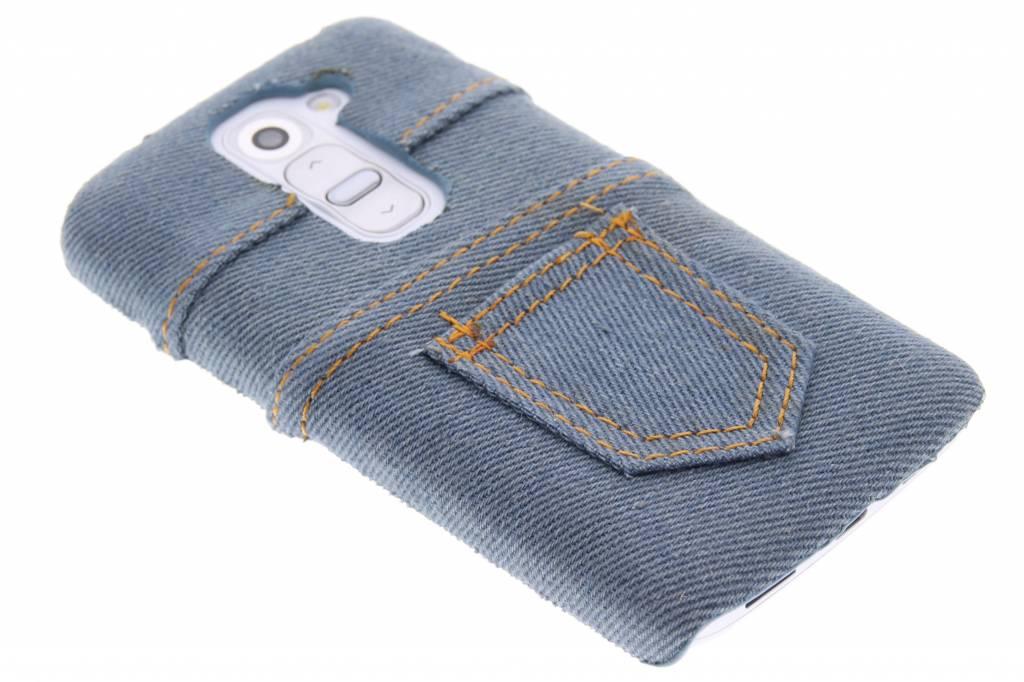 Denim jeans hardcase hoesje voor de LG G2 Mini