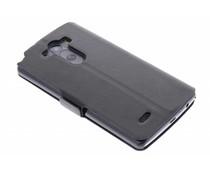 Zwart luxe booktype hoes LG G3