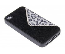 Luxe luipaard design TPU hoesje iPhone 4 / 4s