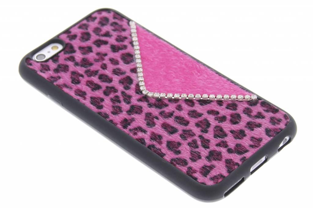 Luxe luipaard design TPU siliconen hoesje voor de iPhone 6 / 6s