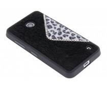 Luxe luipaard design TPU hoesje Nokia Lumia 630 / 635