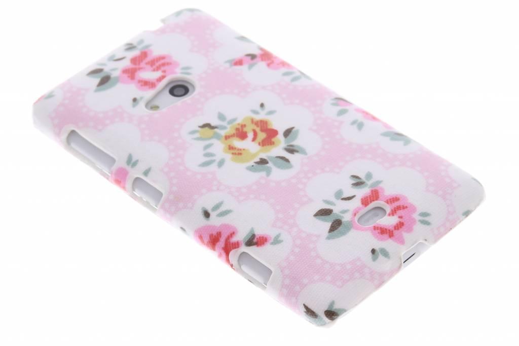 Bloemen design hardcase hoesje voor de Nokia Lumia 625