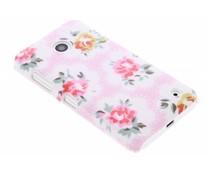 Bloemen design hardcase hoesje Nokia Lumia 630 / 635