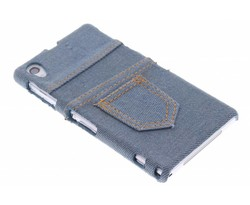 Denim jeans hardcase hoesje Sony Xperia Z1
