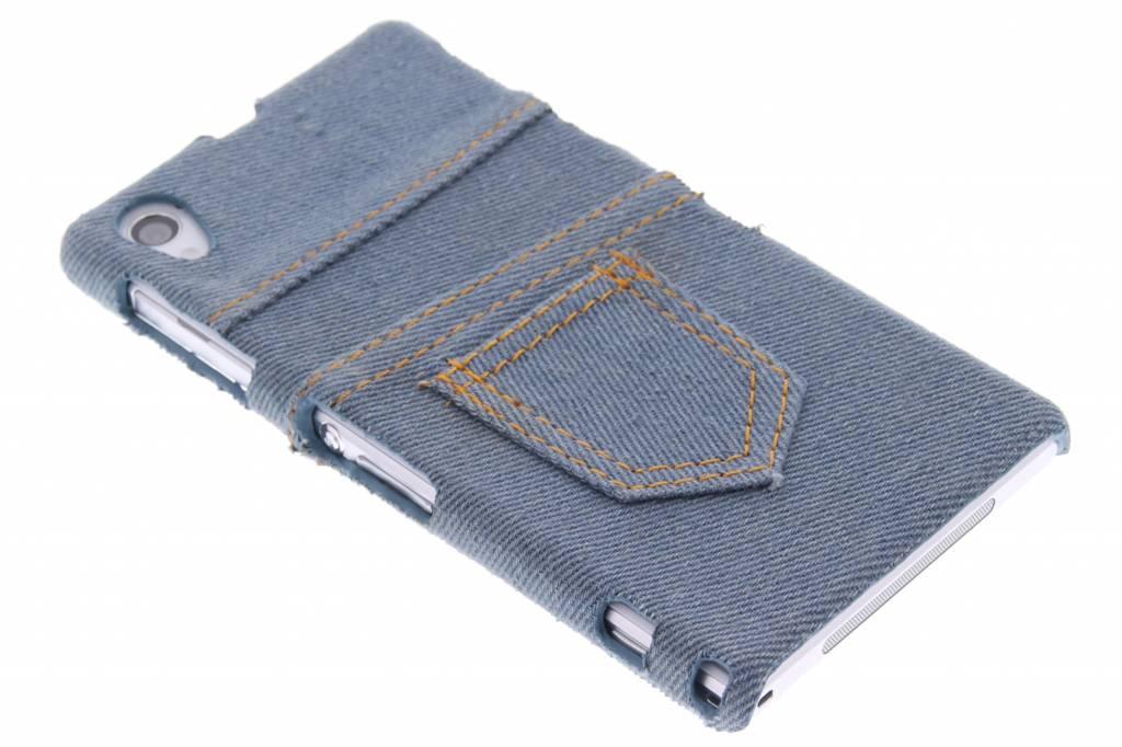 Denim jeans hardcase hoesje voor de Sony Xperia Z1
