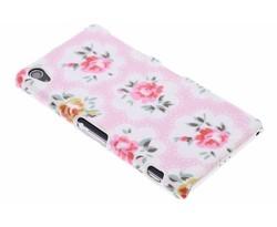 Bloemen design hardcase hoesje Sony Xperia Z2