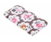 Bloemen design hardcase Samsung Galaxy S5 Mini