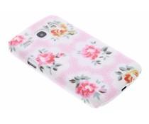 Bloemen design hardcase hoesje Samsung Galaxy Core
