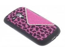 Luxe luipaard TPU hoesje Samsung Galaxy S3 mini